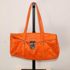 Prada orange shoulder bag